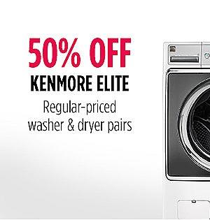 50% off Kenmore Elite