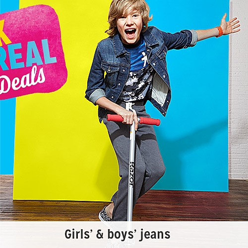 Back to school | Girls' & boys' jeans