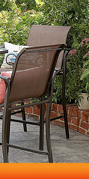 Patio furniture up to 40% off | Plus, extra 10% off when you buy online, pick up in store with code SUMMERFUN