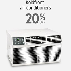 20% off & more on Koldfront air conditioners