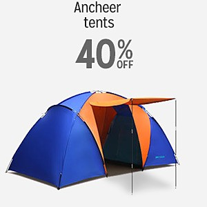 40% off and more on Ancheer tents