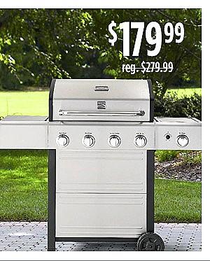 Kenmore 4-Burner Gas Grill $199.99