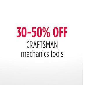 30-50% off Mechanic's Tools