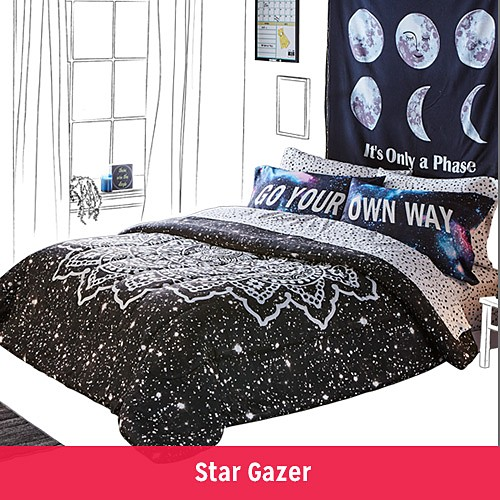 FIND YOUR DORM STYLE | Star Gazer