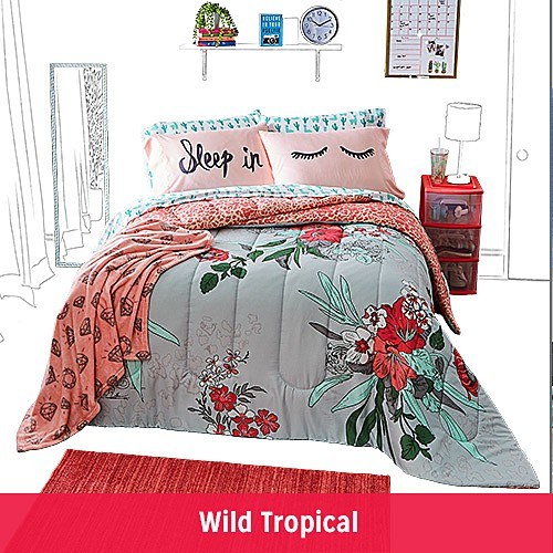 FIND YOUR DORM STYLE | Wild Tropical
