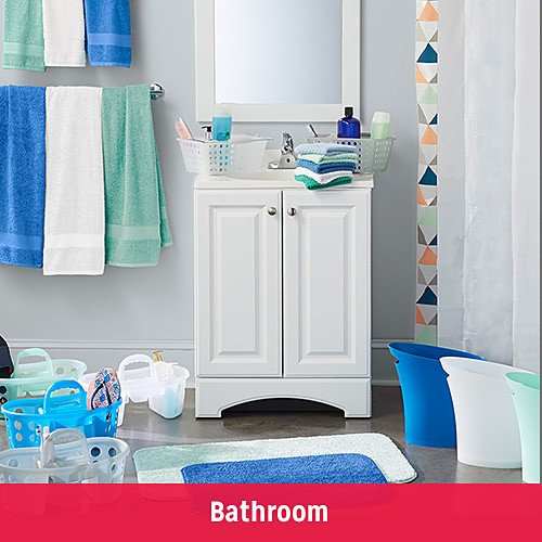 FIND YOUR DORM STYLE | Bathroom