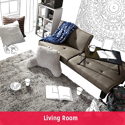 FIND YOUR DORM STYLE | Living Room