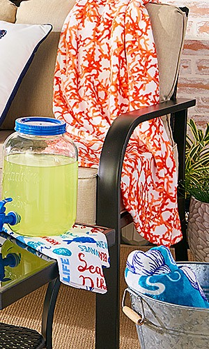 Summer Home Decor up to 40% off