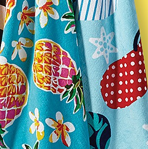 Beach towels up to 50% off