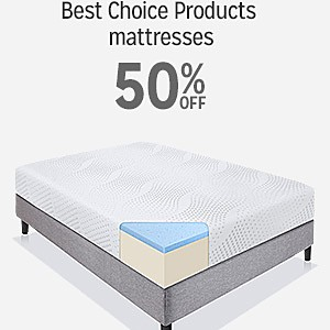50% off Best Choice Products mattresses