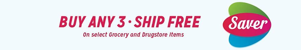 Buy any 3 - Ship free