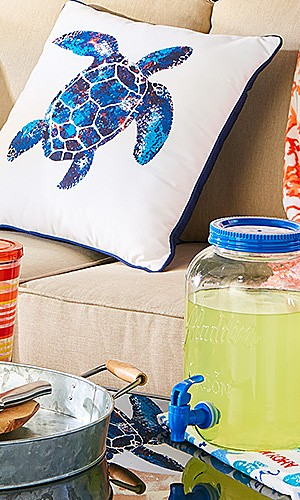 Summer decor collection up to 40% off