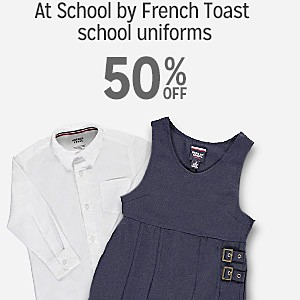 At School by French Toast school uniforms, 50% off
