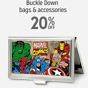 20% off Buckle Down bags & accessories