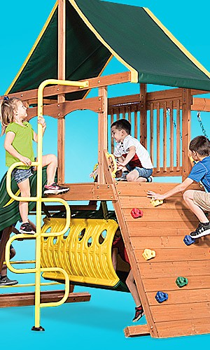 Swing sets, up to 30% off