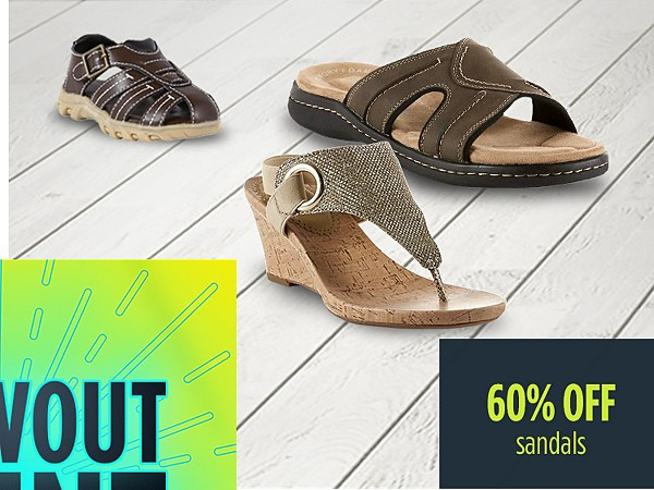 Summer Blowout Event | 60% off sandals