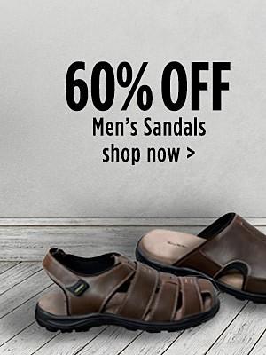 60% off Men's Sandals