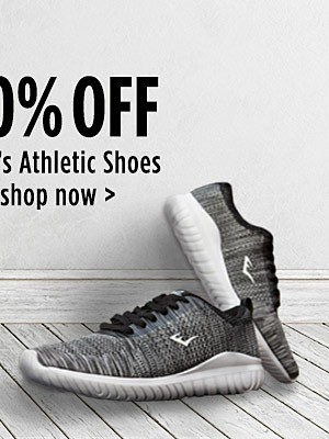 20% off Men's Athletic Shoes & Sneakers