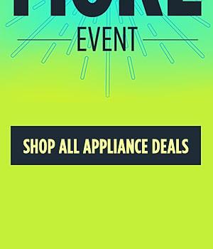Shop All Appliance Deals