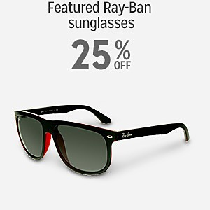 Featured Ray Ban sunglasses 25% off