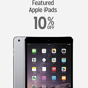 10% off Apple iPads