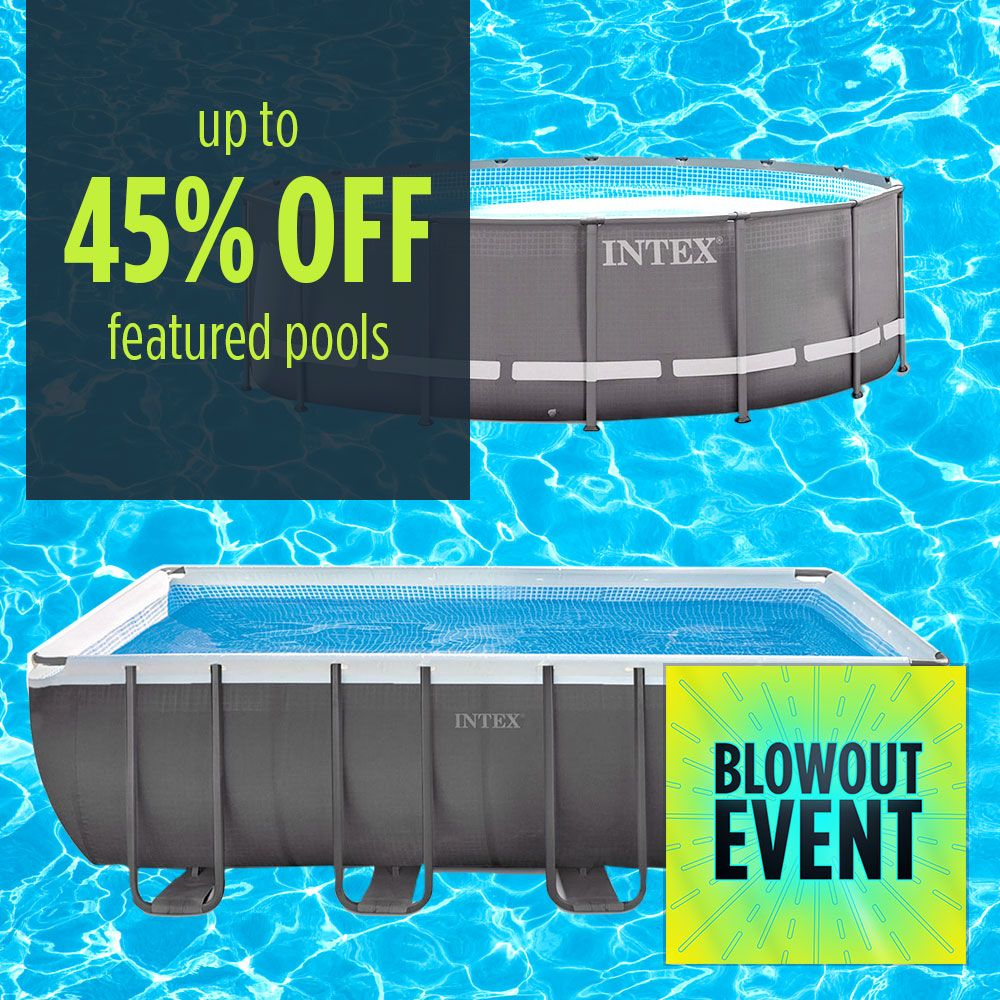 Up to 45% off featured pools