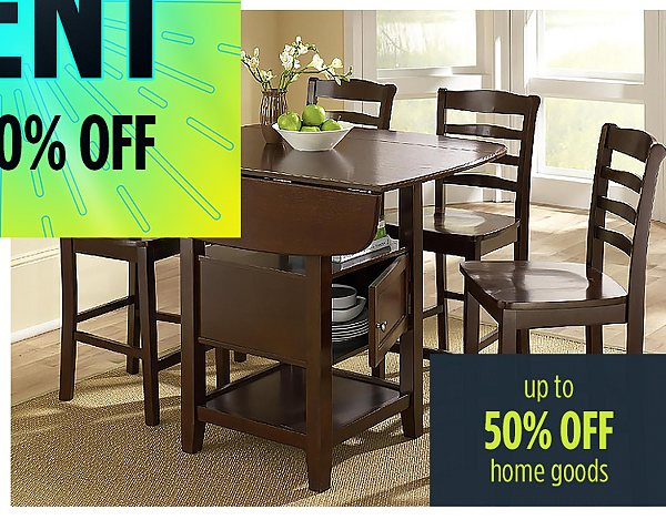 Summer Blowout | up to� 50% off �home goods