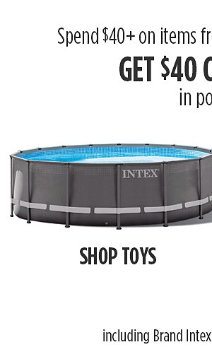 $40 Cashback in point on $40 on items from VMInnovations.com including Brands Intex, SharkNinja & Hoover
