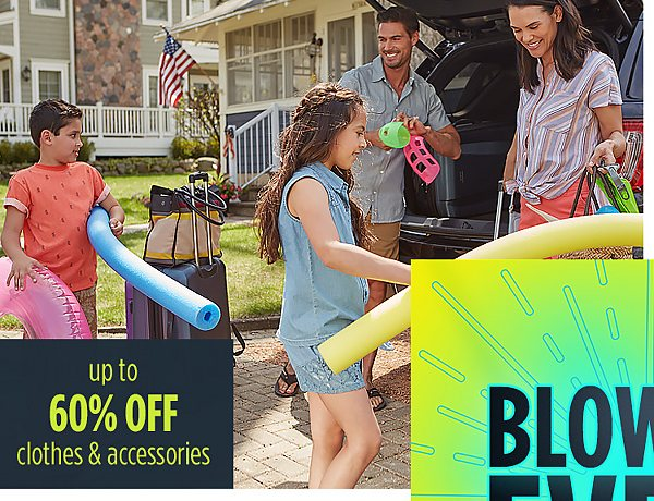 Summer Blowout Event | Up to 60% off clothes & accessories