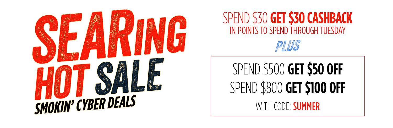 Searing Hot Sales