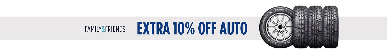 Extra 10% off auto