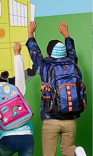 Backpacks, 25% off