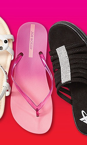 Sandals for the family 50% off
