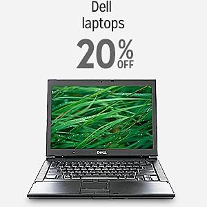 Dell laptops 20% off