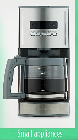 Spend $300 on Kenmore small appliances  get $300 cashback