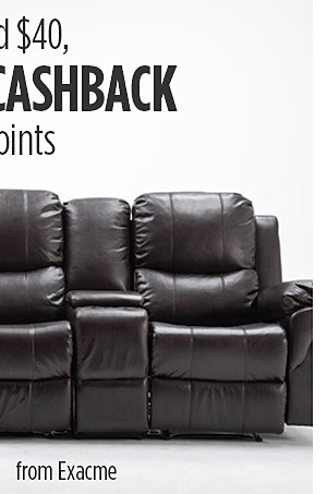 Spend $40, GET $40 Cashback in points   �