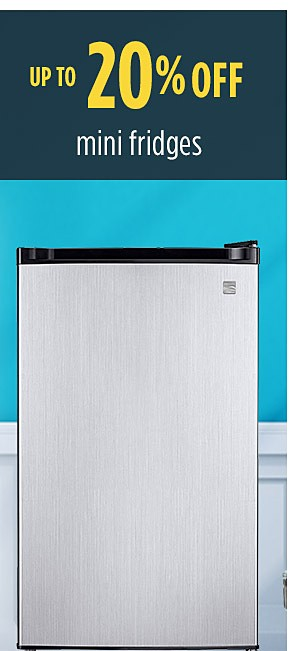 Summer Savings - Back to School | Up to 20% off mini fridges