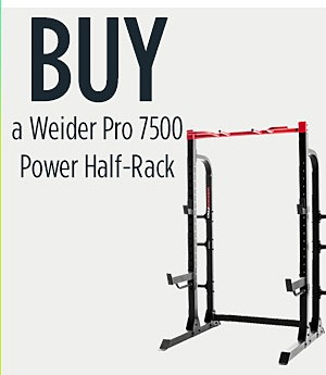Buy Weider Pro 7500 Power Half-Rack
