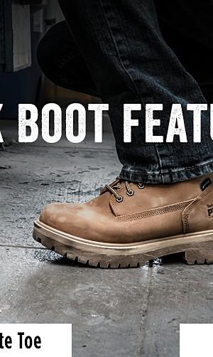 0582b9448 Men's composite toe work boots. Men's composite ...