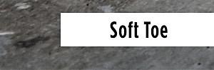 Men's soft toe work boots
