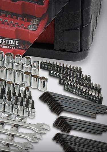 Craftsman 115-pc. universal�mechanic's tool set $139.99  Reg. $149.99