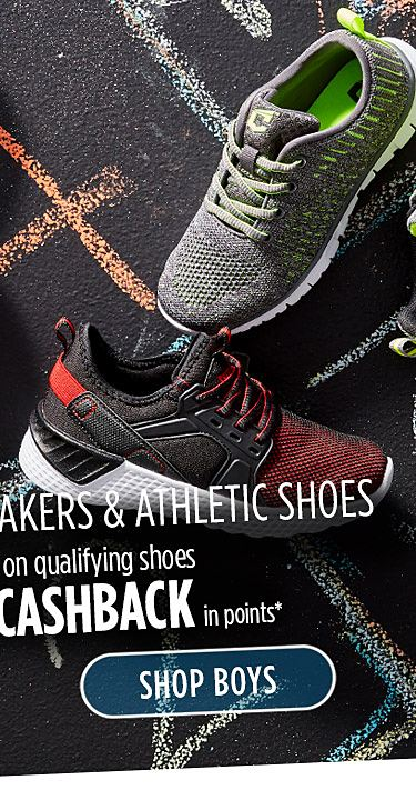 Up to 40% off sneakers & athletic shoes