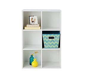 6-cube storage, $29.99