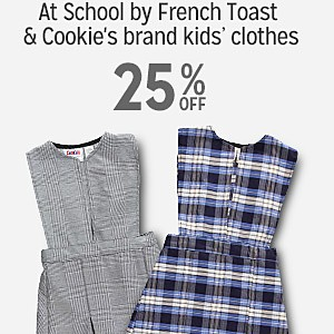 At School by French Toast & Cookie's brand kids' clothes