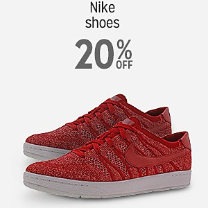 20% off Nike shoes