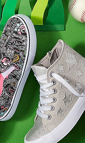 Kids' athletic shoes & sneakers starting at $9.99