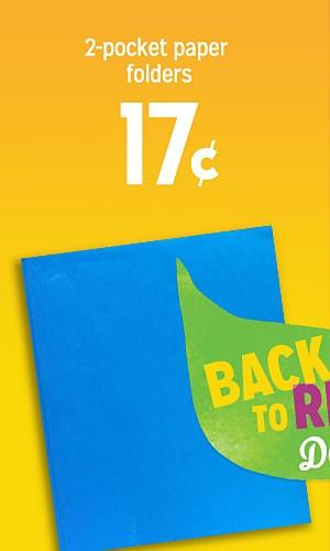 2 pocket paper folders 17 cents