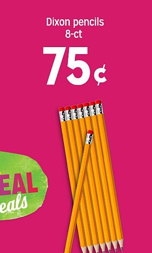 Dixon pencils 8-ct