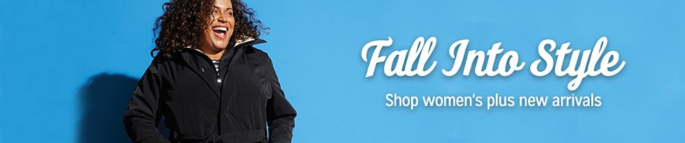 Fall Into Style  Shop women's plus new arrivals