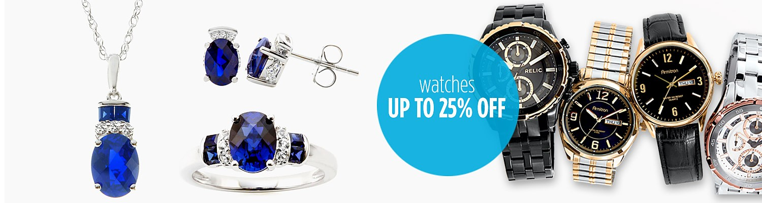 Extra 10% off Jewelry & Watches